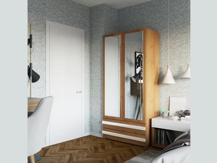 Красивый одежный шкаф «Дизайн Люкс – 11»
