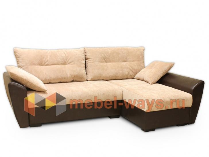 Красивый угловой диван для гостиной «Дюссельдорф»