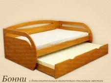 Детская кровать с выкатным спальным местом «Бонни»