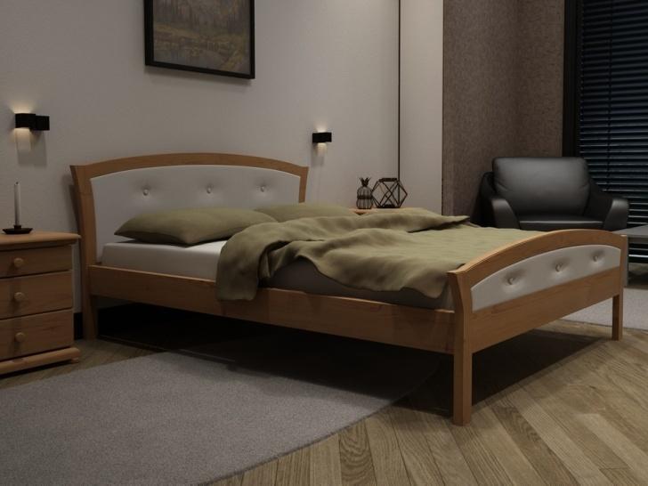 Кровать для девочки из массива дерева «Идиллия-15»