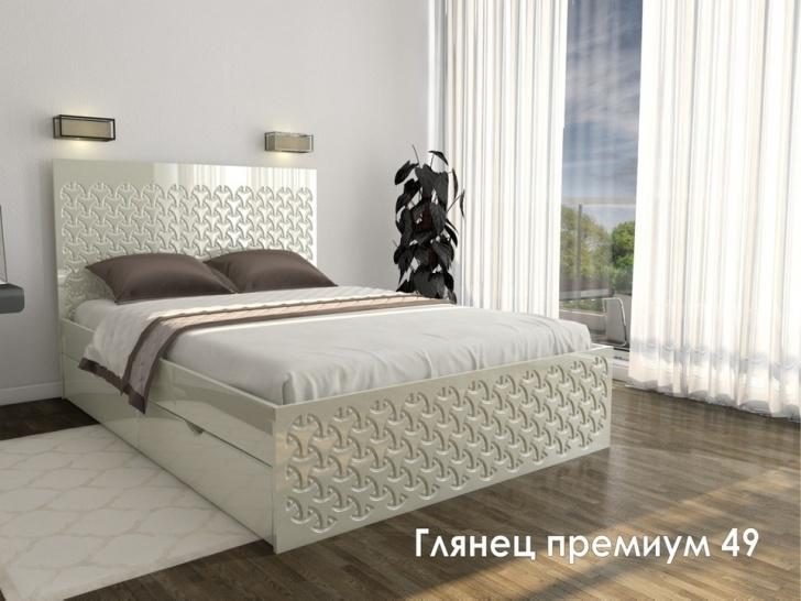 Кровать для гостиницы «Глянец Премиум – 49»