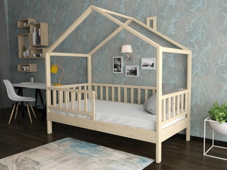Кровать-домик из сосны «ДК-03»