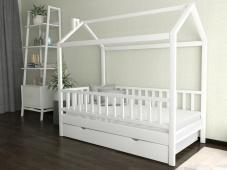 Кровать-домик с бортиками «ДК-01»