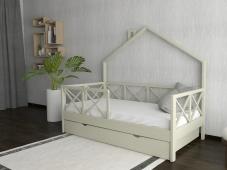 Кровать-домик с ящиками «ДК-02»