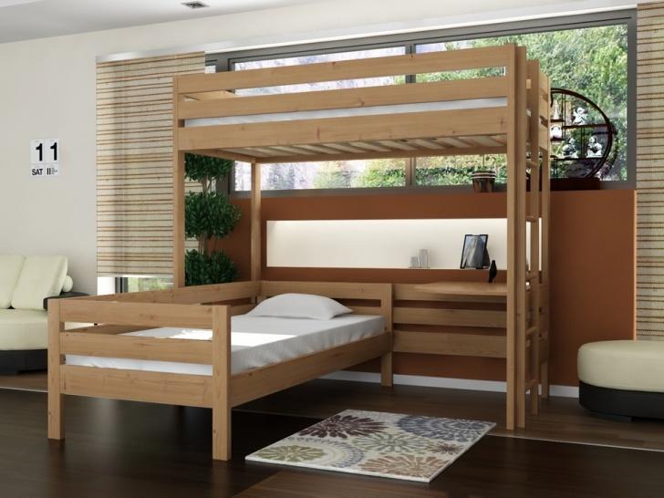 Кровать двухъярусная буквой «Г» «Руфина 35»