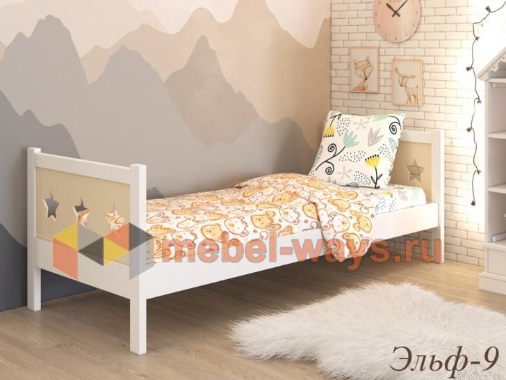 Кровать из дерева для детей от 3 лет «Эльф-9»