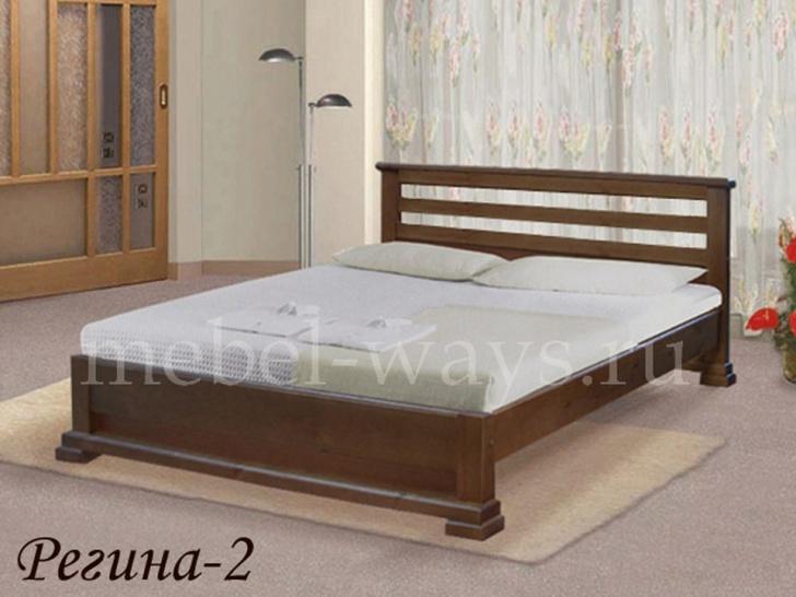 Кровать с задней спинкой «Регина-2»