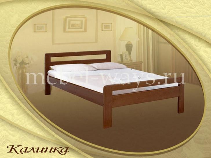 Кровать от производителя из сосны «Калинка»