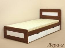Односпальная кровать из массива дерева «Лера-2»