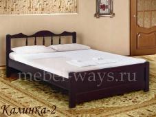 Односпальная сосновая кровать «Калинка-2»