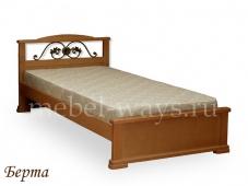 Детская кровать с ковкой «Берта»