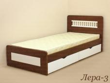 Кровать подростковая из массива дерева «Лера-3»