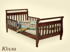 Детская кровать с двумя бортиками «Юлла»