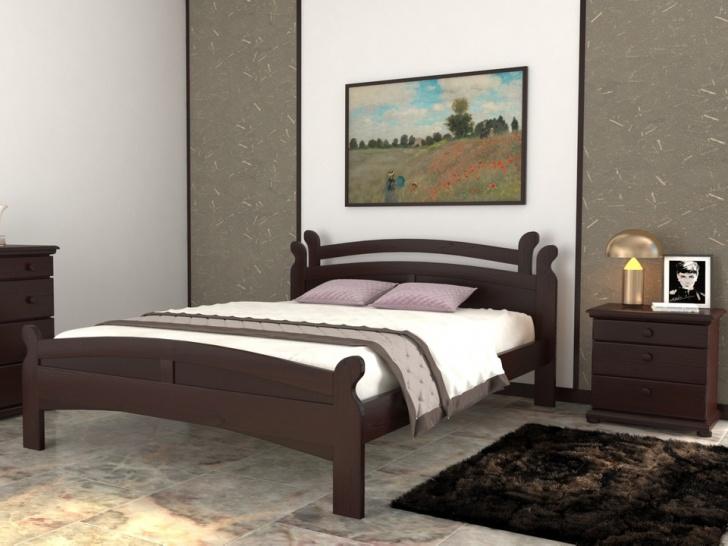 Кровать с фигурным изголовьем «Августина-4»
