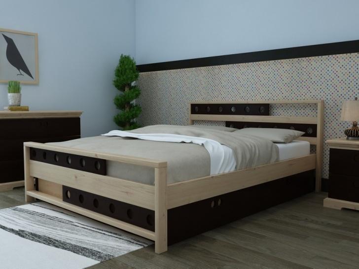 Кровать с фигурными спинками «Августина-9»