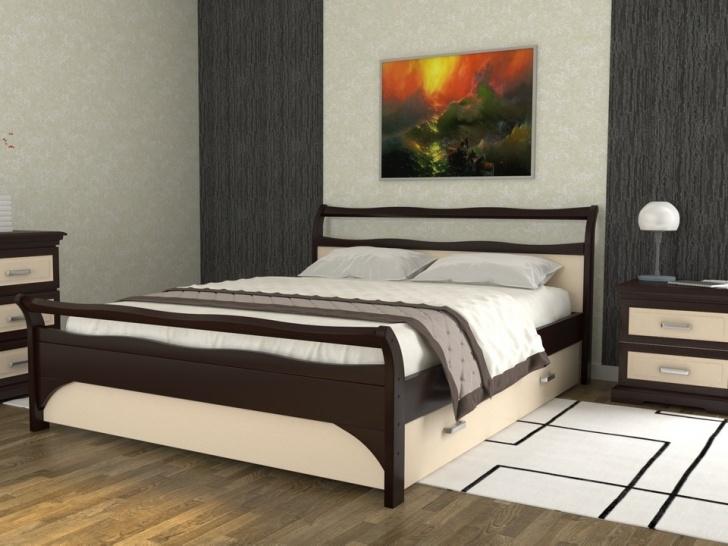 Кровать с изголовьем и ящиками «Августина-3»