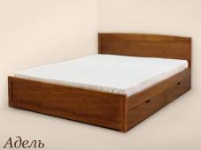 Кровать с одной спинкой и ящиками «Адель»