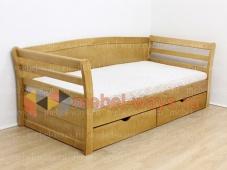 Кровать с тремя спинками «Сандра»