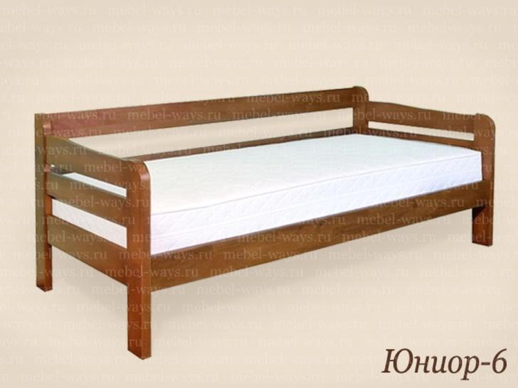 Кровать с тремя спинками «Юниор 6»
