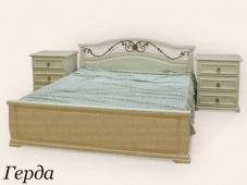 Кровать с тумбами «Герда»