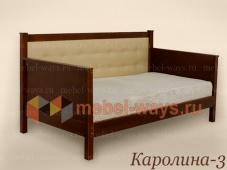 Кровать с высокой спинкой «Каролина-3»