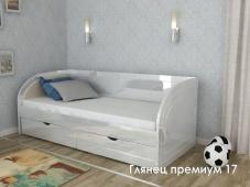 Кровать с ящиками МДФ «Глянец Премиум – 17»