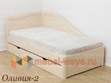 Кровать углом «Оливия – 2»