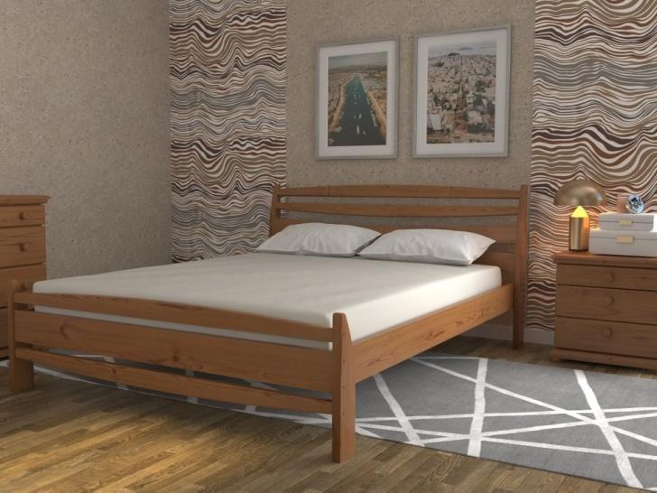 Кровать в эко стиле «Августина-1»