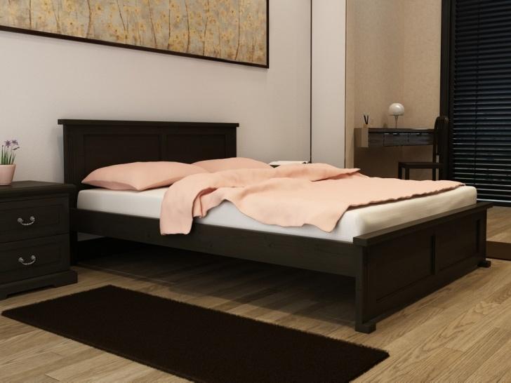 Кровать в стиле Лофт из дерева «Идиллия-10»