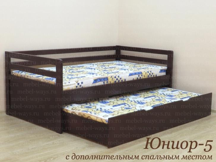 Двухъярусная выдвижная кровать «Юниор-5»