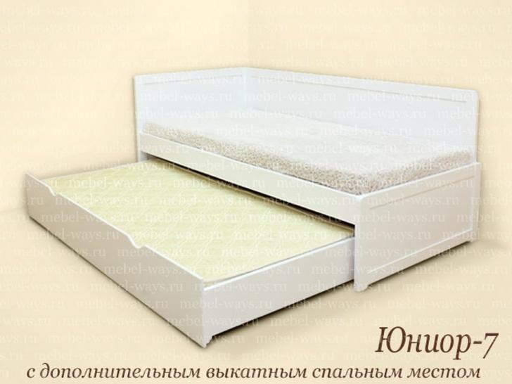 Выкатная кровать для двоих «Юниор-7»