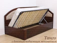 Кровать с боковым подъемным механизмом «Танго»