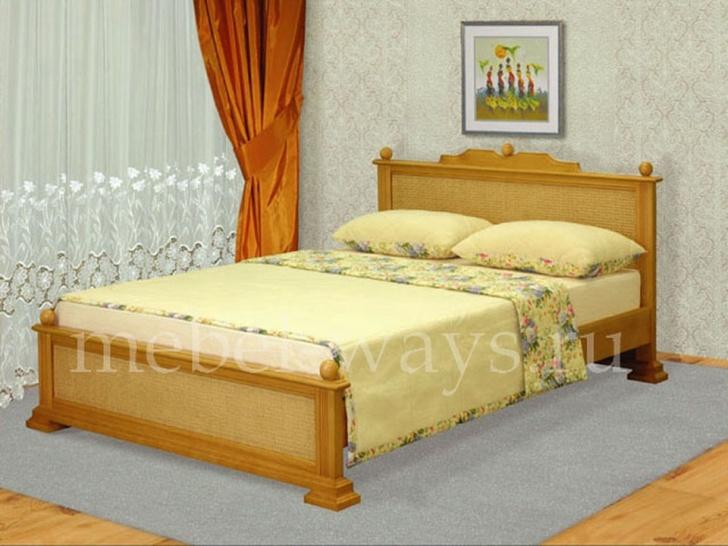 Кровать с ротангом «Лиана»