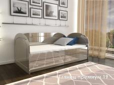 МДФ кровать для ребенка «Глянец Премиум – 19»