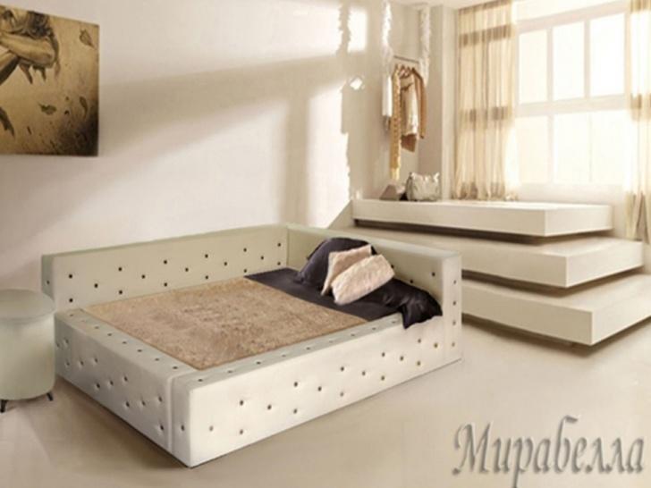 «Мирабелла» - кровать с каретной стяжкой в Москве