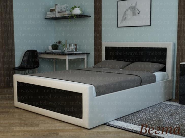 Мягкая кровать по индивидуальным размерам «Вегта»