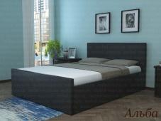 Кровать с мягким изголовьем в Москве «Альба»