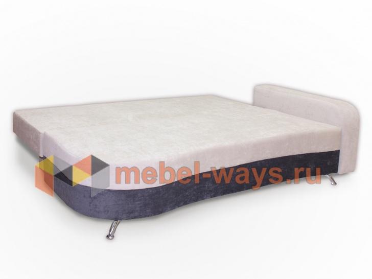 Мягкий удобный диван для гостиной «Вайден» в трансформации