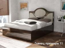 Недорого кровать МДФ «Глянец Премиум — 11»