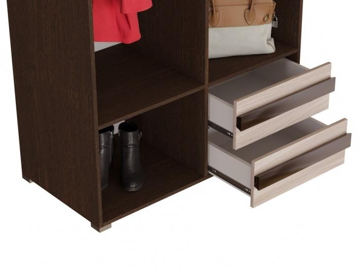 Недорогой распашной шкаф «Дизайн Люкс – 3» с ящиками