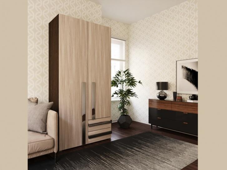 Недорогой распашной шкаф «Дизайн Люкс – 3»