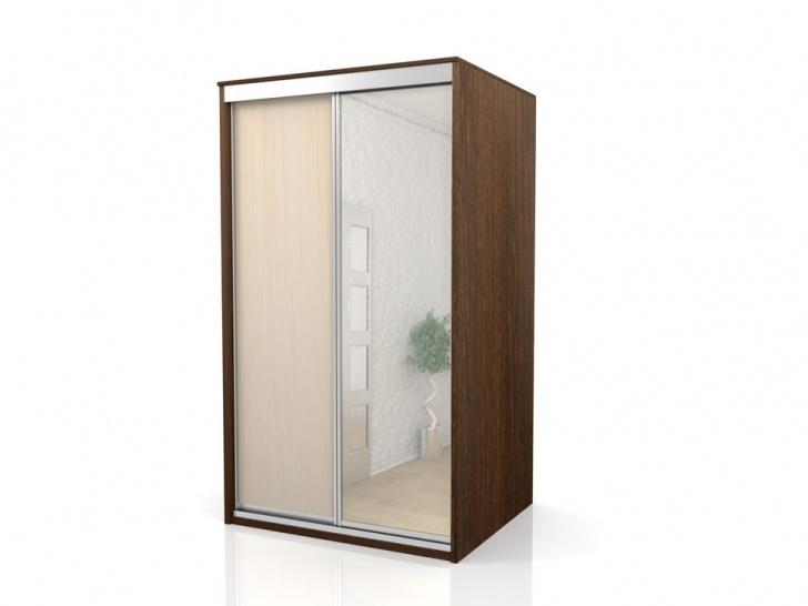 Недорогой шкаф-купе с зеркалом «Отличный – 10»