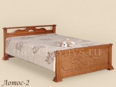 Детская кровать массив сосны «Лотос-2»