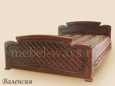 Односпальная классическая кровать «Валенсия»