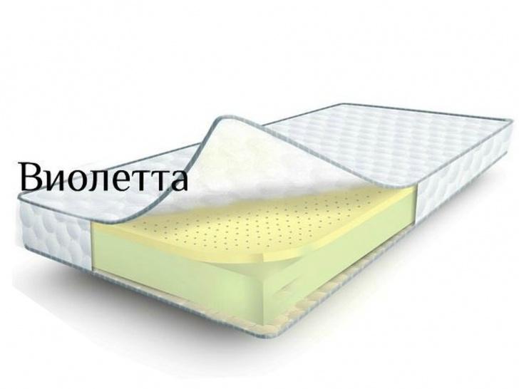 Ортопедический матрас с эффектом памяти «Виолетта»