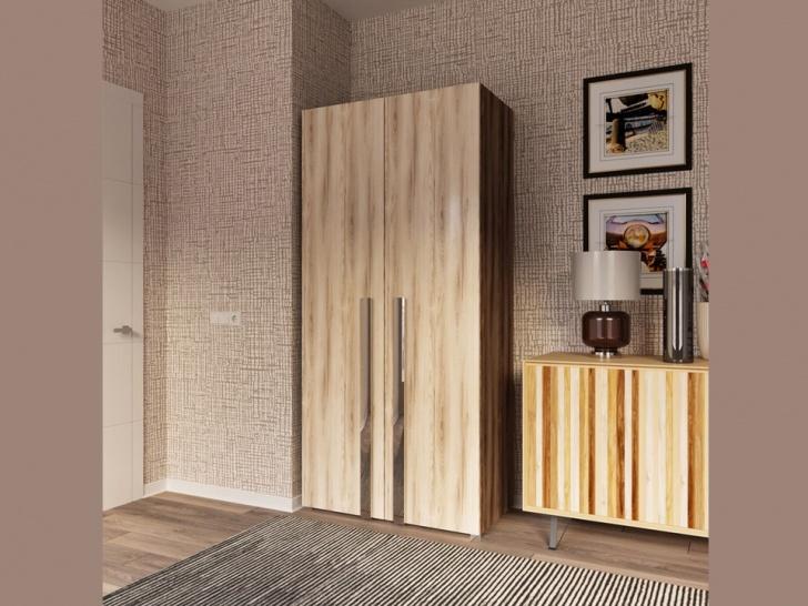 Платяной двустворчатый шкаф «Дизайн Люкс – 2»