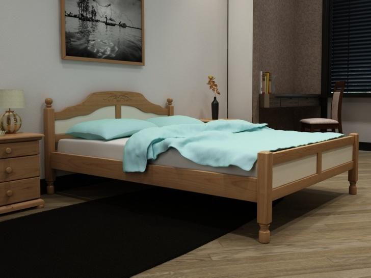 Подростковая кровать из дерева «Идиллия-12»