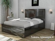 Премиум кровать «Глянец Премиум — 4»