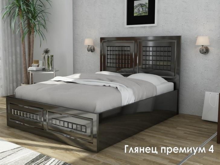 Премиум кровать «Глянец Премиум-4»