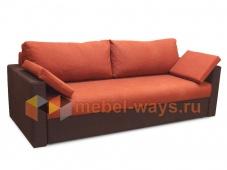 Прямой диван еврокнижка «Гера»